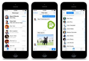 Facebook takip Messenger