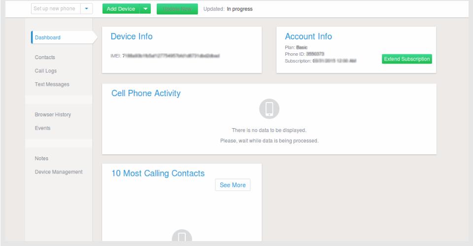 iphone casus yazılım yükleme dashboard